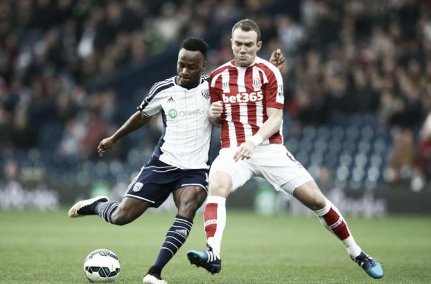 Stoke City fans will hope that Berahino will be in the red and white of Stoke this season. | Photo: We Are Holligans