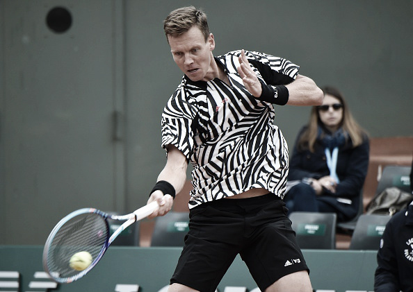 Berdych easily propelled himself to the next round at the 2016 French Open. (Photo: Getty Images)