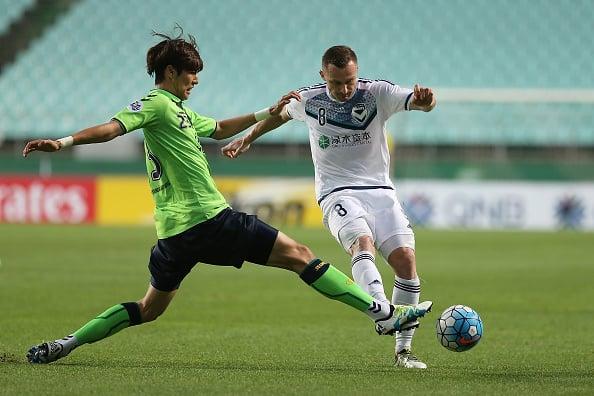 Atacante albanês Berisha é o principal goleador da equipe comandada pelo técnico Kevin Muscat (Foto: Getty Images)