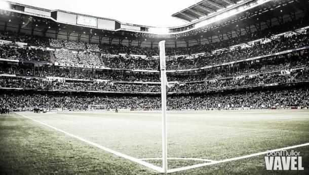 Estadio Santiago Bernabéu durante un partido/Foto: Vavel