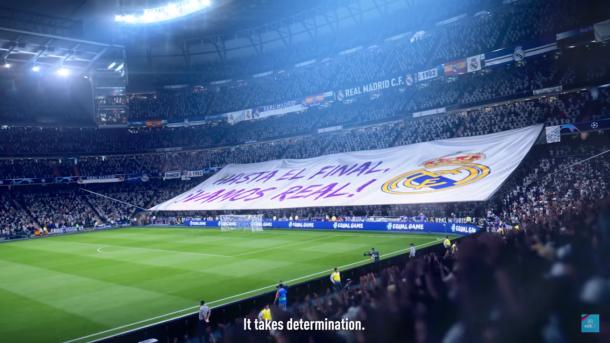 El Bernabéu en FIFA 19. | Foto: Electronic Arts