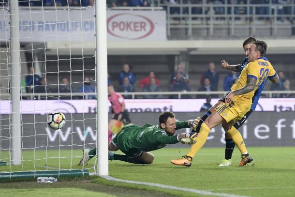 Il goal di Bernardeschi contro l'Atalanta | www.twitter.com (@JuventusFC)
