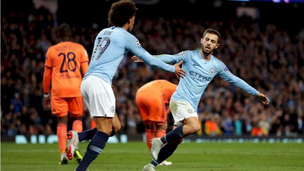 El portugués Bernardo Silva está jugando a un gran nivel   Imagen: Manchester City