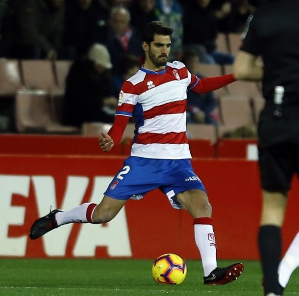 Bernardo Cruz, en su debut ante el Elche CF / FOTO: Granada CF - Pepe Villoslada