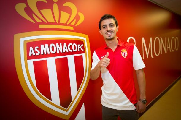 Bernardo Silva arrives in Monaco. Source - Monaco's official website.