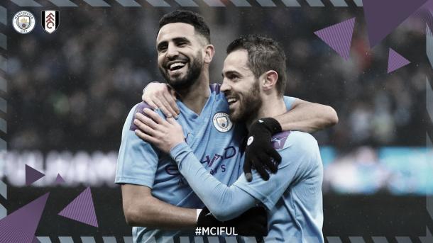 Gol de Bernardo./ Foto: Manchester City