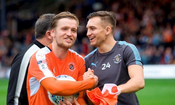 Berry ha sido uno de los jugadores clave en el centro del campo | Foto: Luton Town