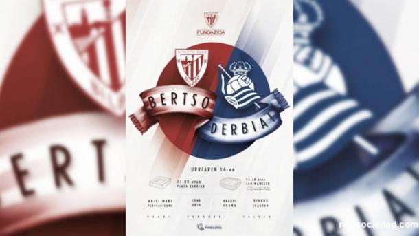 Los Bertsos derbiak son otra muestra más de rivalidad e unión entre aficiones. Fotografía: Web Real Sociedad.
