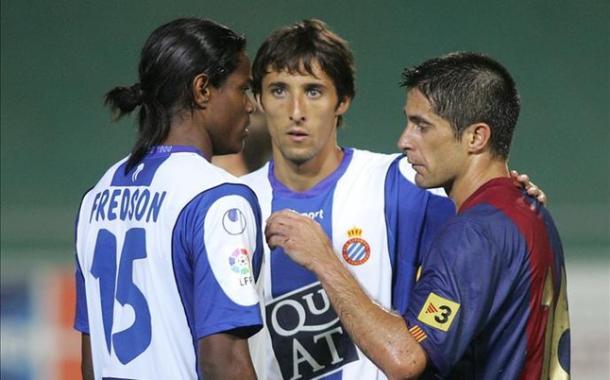 Fede cambió el azulgrana por el blanquiazul. Foto: sport.es
