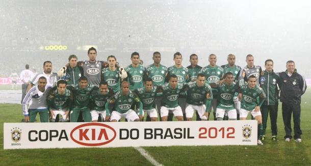 Em 2012, Betinho fez o gol do título para o Verdão ( (Foto: Ag Palmeiras/ Divulgação))