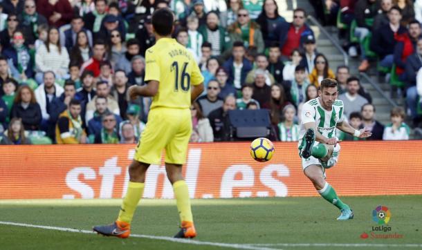 Último partido del Betis como local frente al Villarreal / La Liga Santander