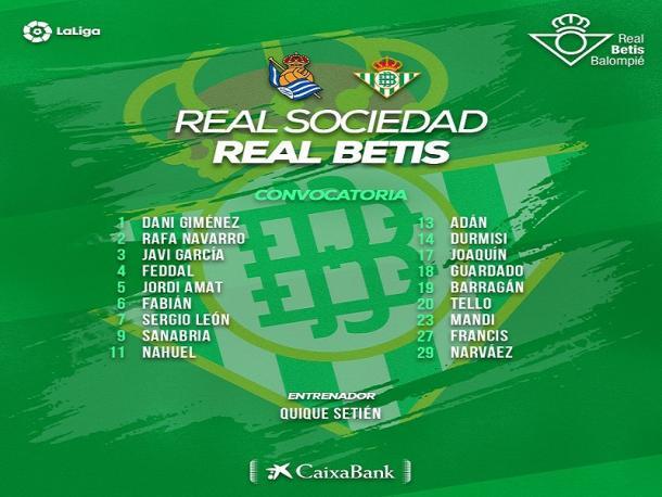 Conovatoria Real Betis / Foto vía Betis