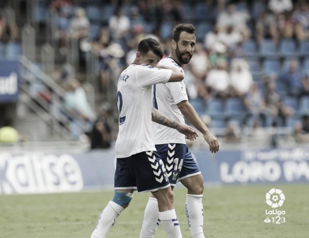 Jugadores del CD Tenerife | Foto: LaLiga