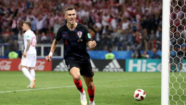 Ivan Perišić put in a Man of the Match performance | Source: Getty Images via FIFA.com