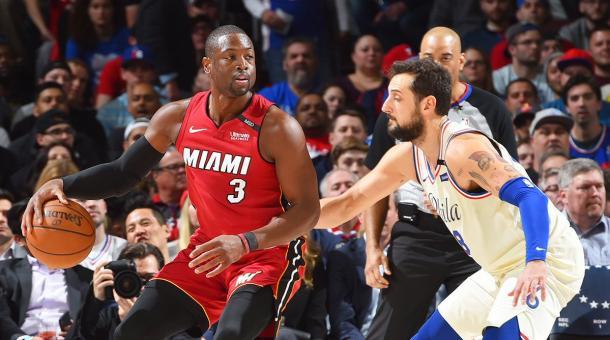 Wade fez grande primeiro tempo | Foto: Getty Images
