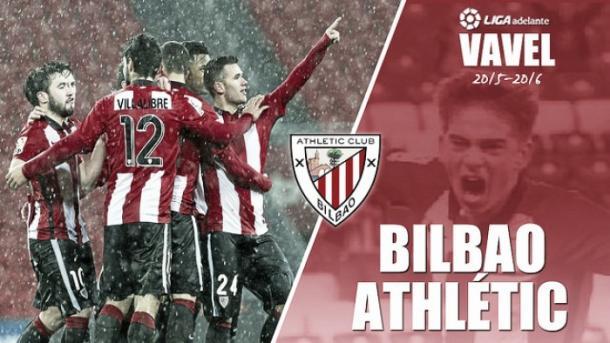 Equipo del Bilbao Athletic, que se enfrentó al Alavés en Lasesarre. Fuente: vavel.com