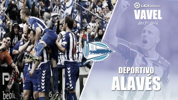 Equipo del Alavés, que se enfrentó al Bilbao Athletic, en Lasesarre. Fuente: vavel.com