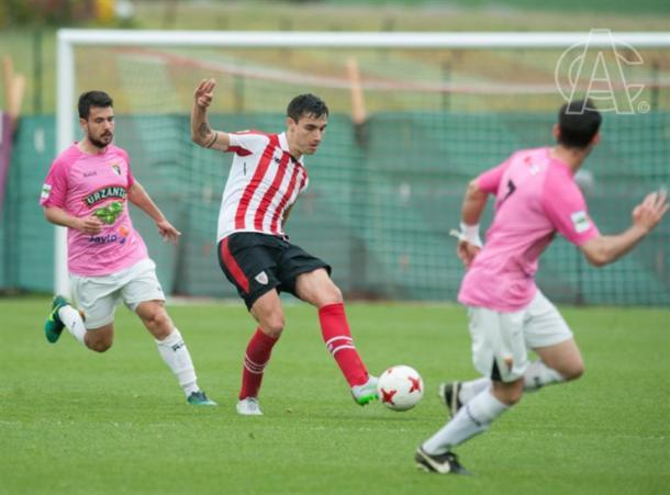Unai Bilbao es el segundo jugador con más minutos del equipo. | FOTO: Athletic Club