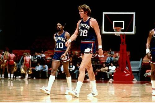 Bill Walton en su etapa en los San Diego Clippers | Foto: Getty Images