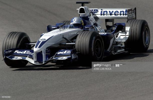 Sebastian Vettel probando el Williams en Jerez a la edad de 18 años // Foto: Getty Images