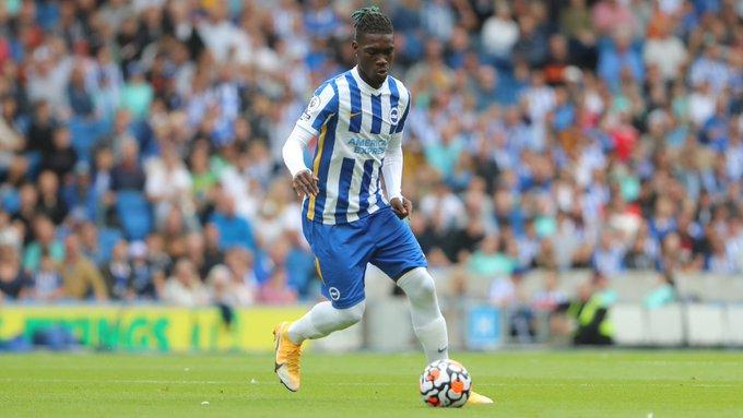 Yves Bissouma against Everton | Photo: Brighton & Hove Albion