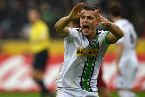 New kid on the block: Granit Xhaka. | Source: bleacher report