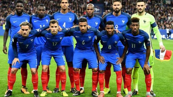 En la fotografía, los jugadores más destacados de les Bleus // Fuente: Selección de Francia