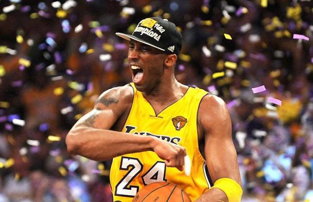 Em 2010, Kobe se vingou dos Celtics e conquistou o título da NBA, seu quinto na carreira (Foto: Divulgação/NBA)