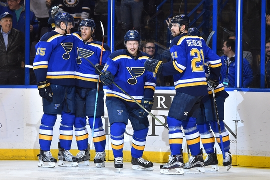 St. Louis Blues ran away with their 6-1 win over the Dallas Stars on Tuesday night. | Photo: USA Today Sports