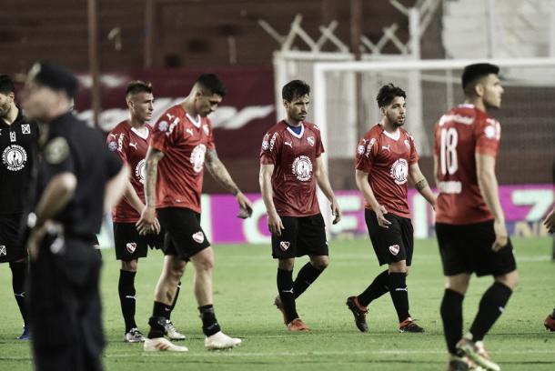 El equipo estuvo inconexo. Imagen: @Independiente