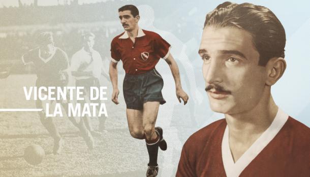 Vicente de la Mata. Imagen: www.afa.com.ar