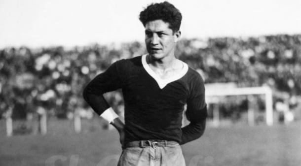 Arsenio Erico. Imagen: El Gráfico