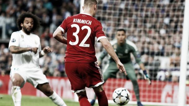 Previo al penal no cobrado. Imagen: Munich