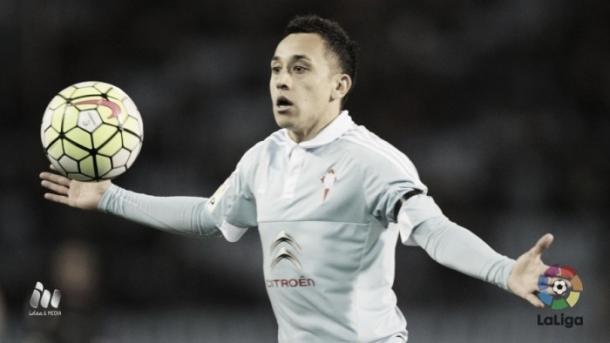 Fabián Orellana con la camiseta del Celta de Vigo | Fuente; LaLiga