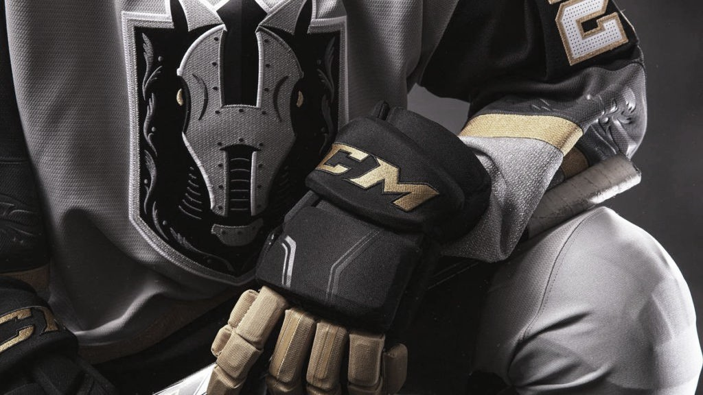 Detalles equipación local | Vegas Golden Knights