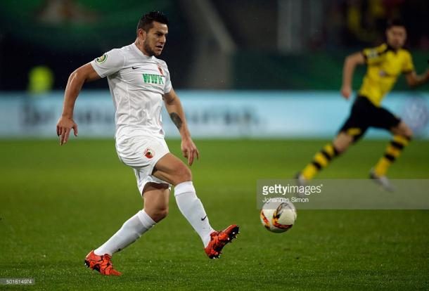 Could Bobadilla be the one to break the deadlock for Augsburg? Source: (Getty Images)