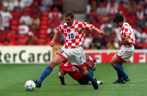 Boban, uno de los históricos jugadores croatas del 98 | Foto: @fifaworldcup_es