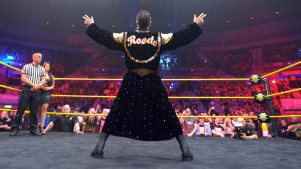Bobby Roode may be leaving NXT for the main roster very soon (image: wrestling rumors)