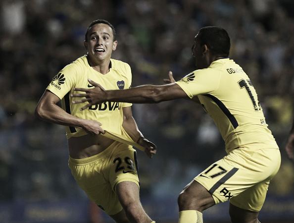 O Boca vem de vitória heroica por 2 a 1, contra o Tigre. (Reprodução: Daniel Jayo/Getty Images)