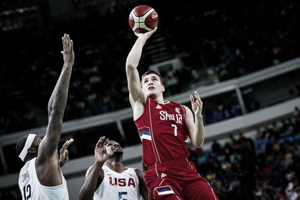Bogdan Bogdanovic en Juegos Olímpicos 2016. Foto: FIBA