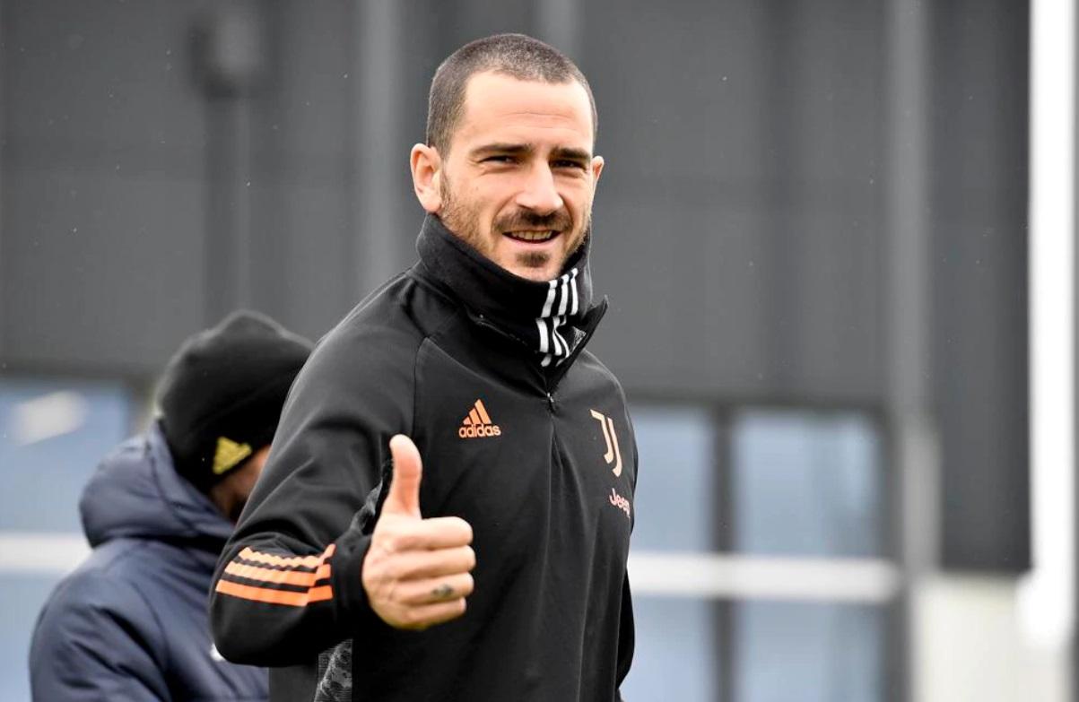 Bonucci durante un entrenamiento / FOTO: UEFA