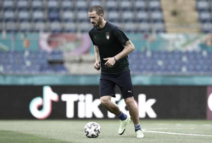Leonardo Bonucci, uno de los experimentados italianos   Foto: UEFA