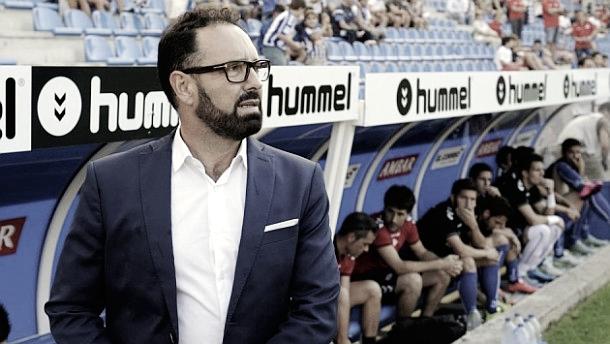 Jose Bordalás al inicio de uno de sus partidos // Fuente: Getafe CF