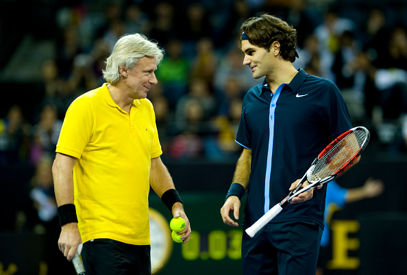 Borg and Federer have 29 Grand Slam titles between them (Photo: Getty Images/Victor Fraile)