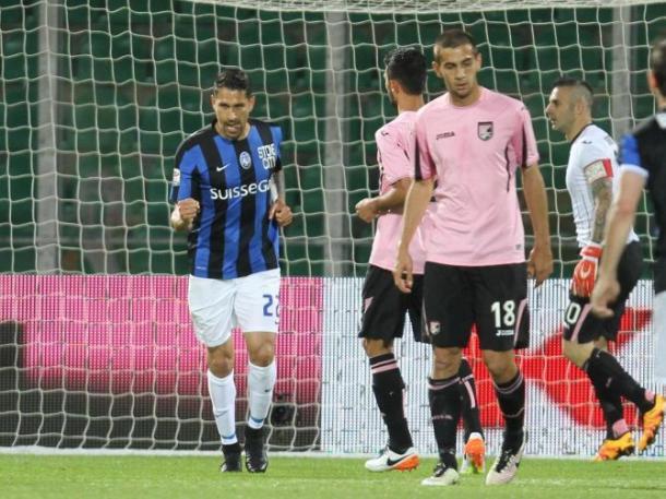 Marco Borriello dopo il gol dell'1-1 | www.calcioweb.eu