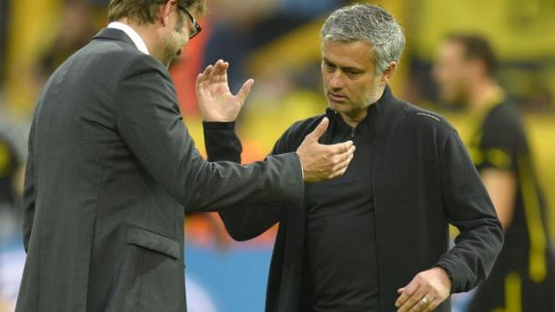 Jurgen Klopp e Jose Mourinho