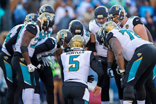Blake Bortles ainda precisa provar que pode ser um franchise quarterback (Foto: Wesley Hitt/Getty Images)