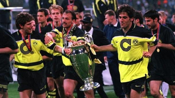 El Borussia Dortmund fue la gran revelación de los años 90 | Fuente: UEFA