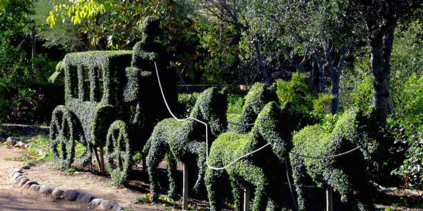 Figura del Bosque Encantado. Foto: bosqueencantado.net