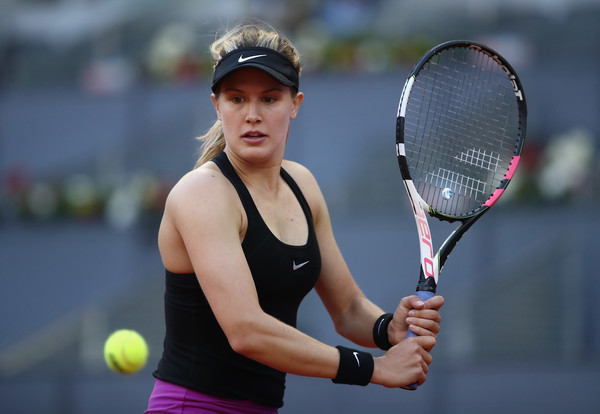 Bouchard will be looking to defeat Sharapova for the first time in their fifth encounter (Photo by Julian Finney / Getty Images)